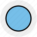 audio, circle, media, multimedia, record, video