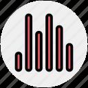 audio, bars, eco, lines, music, sound
