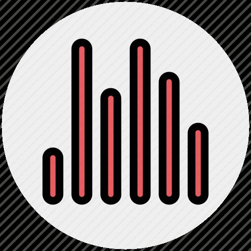 audio, bars, eco, lines, music, sound icon