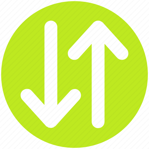 arrow, down arrow, download, up and down arrows, up arrow, upload icon