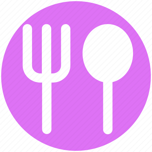 Food, fork, fork spoon, lunch, restaurant, spoon icon - Download on Iconfinder