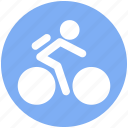 bicycle, bike, cycle, cycling, cyclist icon