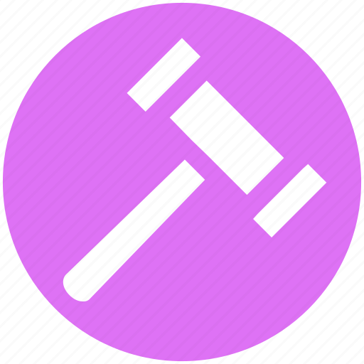 Court, gavel, justice, law, lawyer, legal icon - Download on Iconfinder