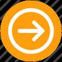 arrow, forward, right, right arrow