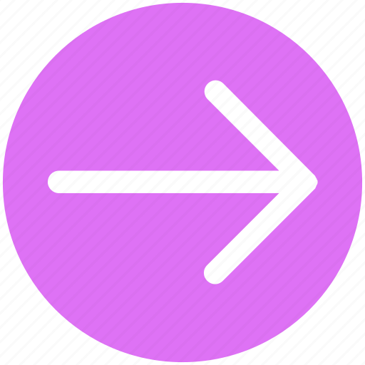arrow, forward, right, right arrow icon