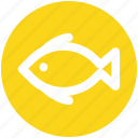 animal, fish, fishing, food, seafood, water icon
