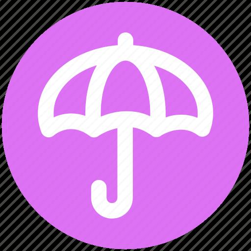 Forecast, protection, rain, umbrella, weather, wet icon - Download on Iconfinder