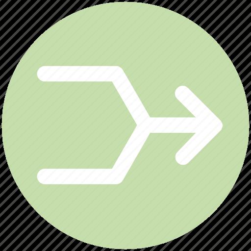 Arrow, arrows, direction, multimedia icon - Download on Iconfinder