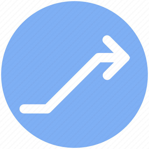 Arrow, bar, diagram, increase, up icon - Download on Iconfinder