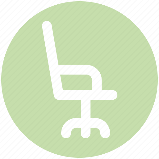 Chair, furniture, interior, office chair, seat icon - Download on Iconfinder