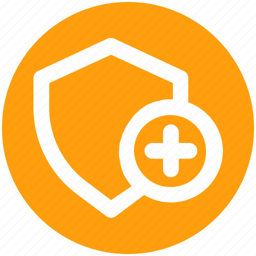 Add, secure, security, security sign, shield, sign icon - Download on Iconfinder