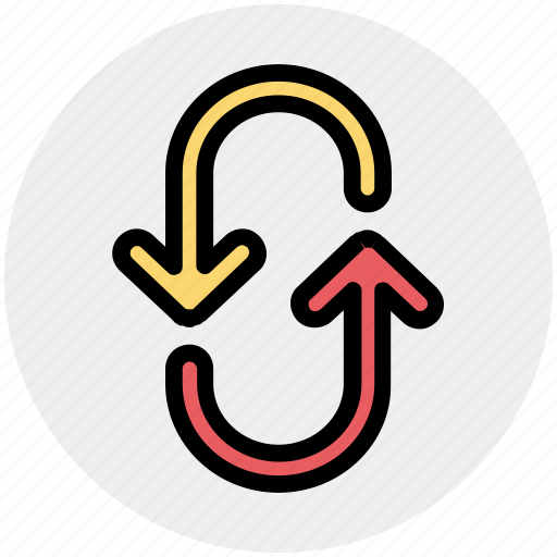 Arrow, arrows, direction, down, right, up icon - Download on Iconfinder