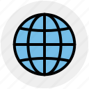 earth, global, globe, world, world globe icon