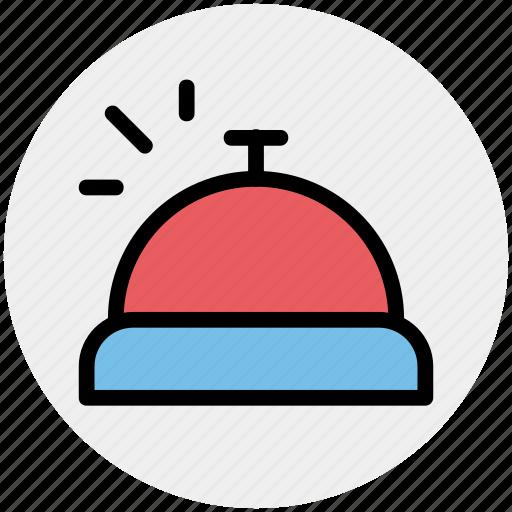 alert, bell, counter bell, customer, hotel, reception icon