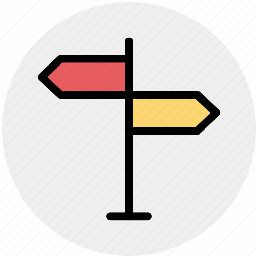 direction, location sign, panel, road sign, sign, street sign icon