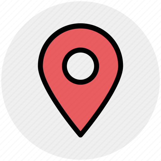 location, map, map pin, pin, sticky, word map icon