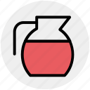 drink, jar, jug, milk, water, water jug icon