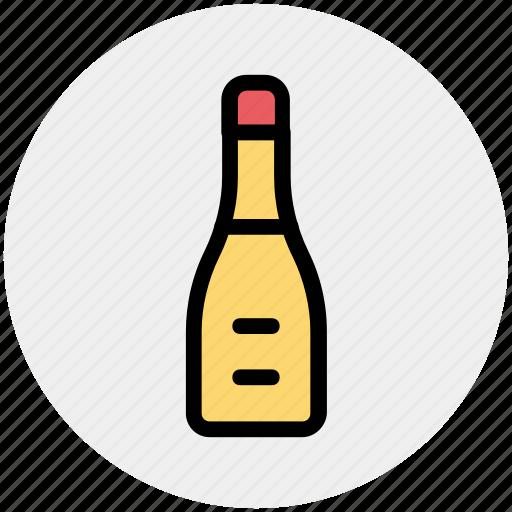 alcohol, beer, bottle, coke, restaurant, wine icon