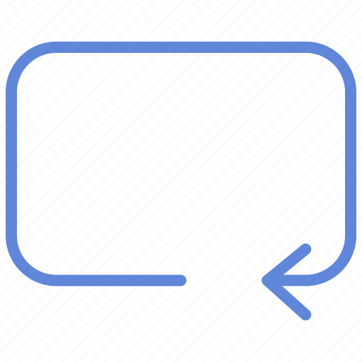 arrow, check, open, rectangle, refresh, square icon