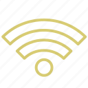 connection, internet, radio, spot, wifi icon