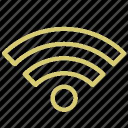 connection, internet, radio, spot, wifi icon