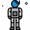 astronaut, helmet, space icon icon