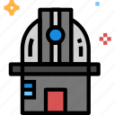 astronomy, observatory, space icon icon