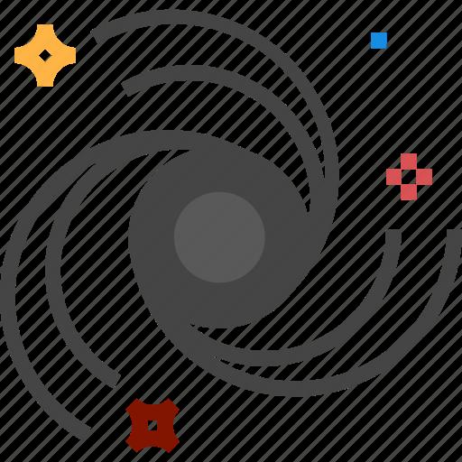 blackhole, hole, space icon icon