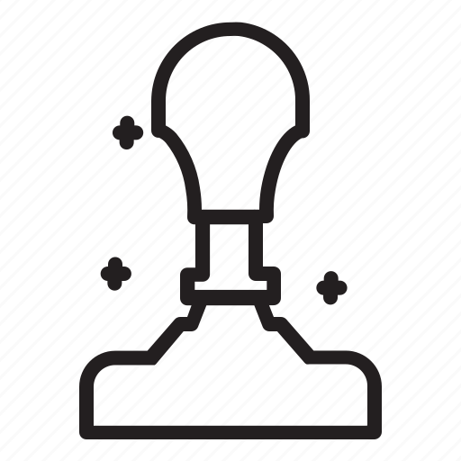 signature, stamp, university icon