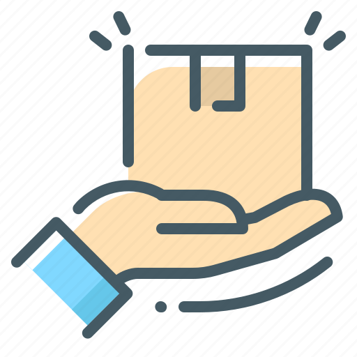 Box, cargo, delivery, shipping, package, save package icon - Download on Iconfinder