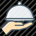 food, online, dish, hand, online food