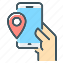 mobile, tracking, navigation, point, tracking package