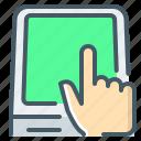 terminal, kiosk, atm, hand, self-service terminal, touch screen