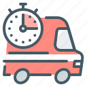 shipping, courier, delivery, express, stopwatch, express delivery