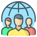 team, group, social, society, social media, social group