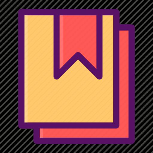 article, book, mark, ribbon, save icon