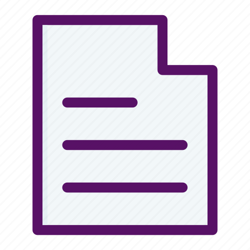 document, file, letter, paper, send icon