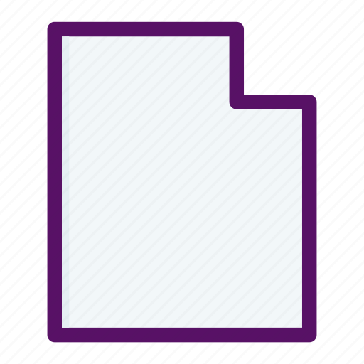 directory, document, file, letter, paper icon