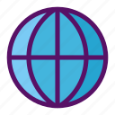website, sphere, globe, gps, earth