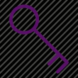 key, lock, padlock, password, security icon