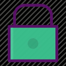block, lock, password, prevent, secure icon