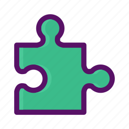 component, game, jigsaw, modular, puzzle icon