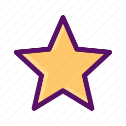 favorite, like, love, rating, star icon