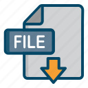 document, download, extension, file
