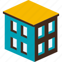 building, business, city, estate, hotel, town, urban icon