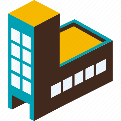 building, business, city, factory, home, property, urban icon