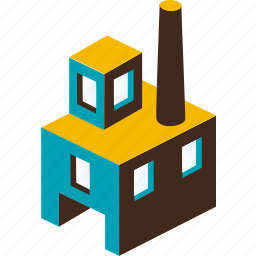 building, business, city, factory, industry, plant, urban icon
