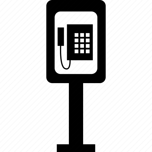 public, street, telephone icon