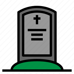 cemetery, christian, christianity, dead, death, monuments, religion icon