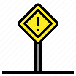 forbidden, prohibition, road, shapes icon